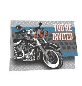 Cycle Shop Invitations
