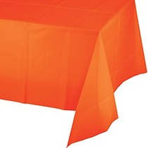 Sunkissed Orange Table Cover