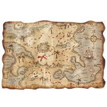 "Treasure Map-""12 x 18"""