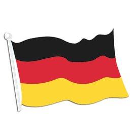 German Flag Cutout