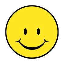 Smile Face Cutout