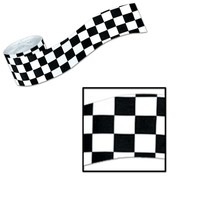 B/W Checkered Streamer