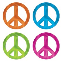 Peace Sign Silhouettes