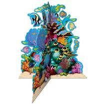 Coral Reef Centerpiece 3-D