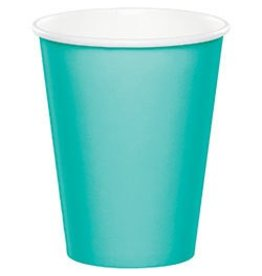 Paper Cups Teal Lagoon