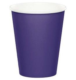 Paper Cups Purple