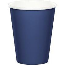 Paper Cups Navy