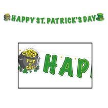 Happy St. Patrick's Day Streamer-5'