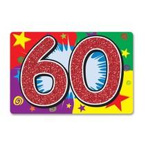 60 Glitter Sign