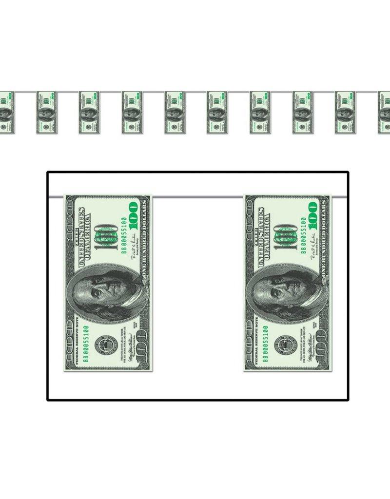 $100 Pennant Banner