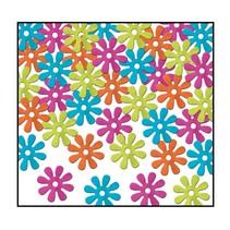 Retro Flower Confetti