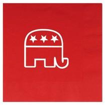 Republican Luncheon Napkins - R