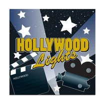 Hollywood Luncheon Napkins