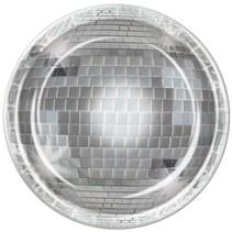 "Disco Plates - 9"""