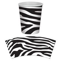 Zebra Print Cups
