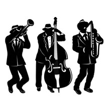 Jazz Musician Silhouettes