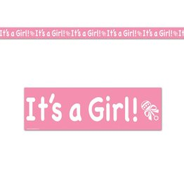 It's A Girl Party Tape