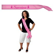 Survivor Sash-One Size Fits Most