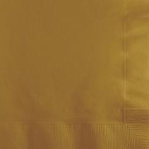 Beverage Napkins Glittering Gold