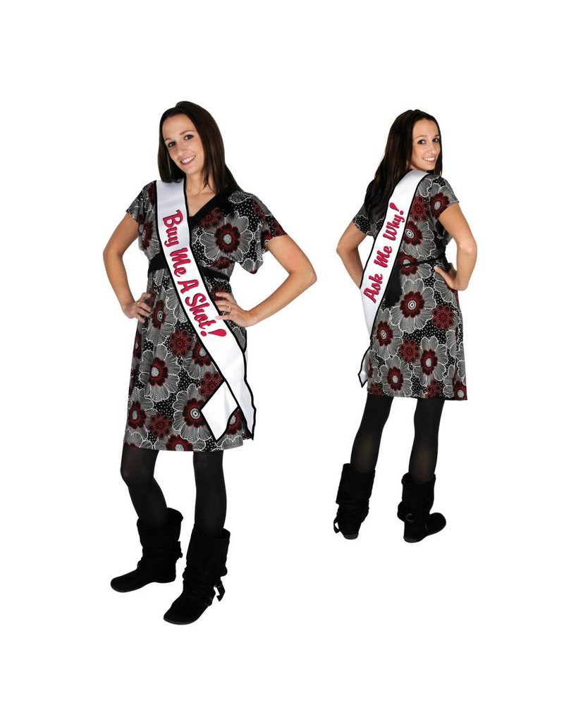 21st Buy A Shot Sash-One Size Fits Most