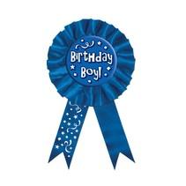 Birthday Boy Rosette Ribbon