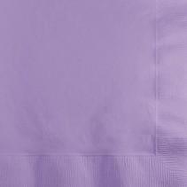 Beverage Napkins Luscious Lavender