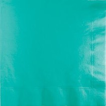 Luncheon Napkins Teal Lagoon