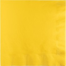 Luncheon Napkins School Bus Yellow