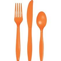 Cutlery Sunkissed Orange