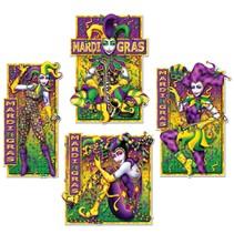 Masquerade Mime Cutouts-4pieces