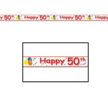 Happy 50TH Party Tape
