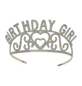 Glitter- Birthday Girl Tiara