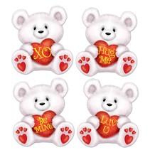 Valentine Bear Cutouts