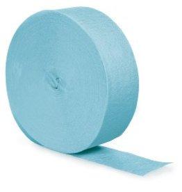 Crepe Paper Streamers 500' Pastel Blue