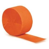 Crepe Paper Streamers 81' Orange