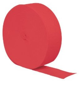 Crepe Paper Streamers 81' Coral