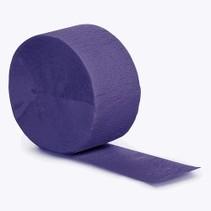Crepe Paper Streamers 81' Purple