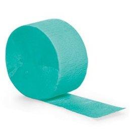 Crepe Paper Streamers 81' Teal Lagoon
