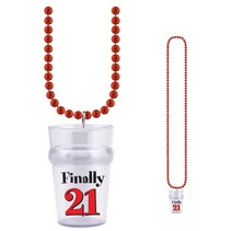 21st Birthday Glass Bead