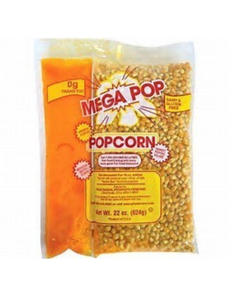 8oz Mega Pop Popcorn