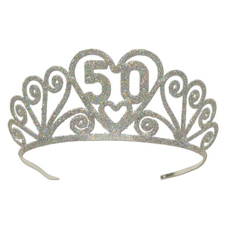 50TH Tiara