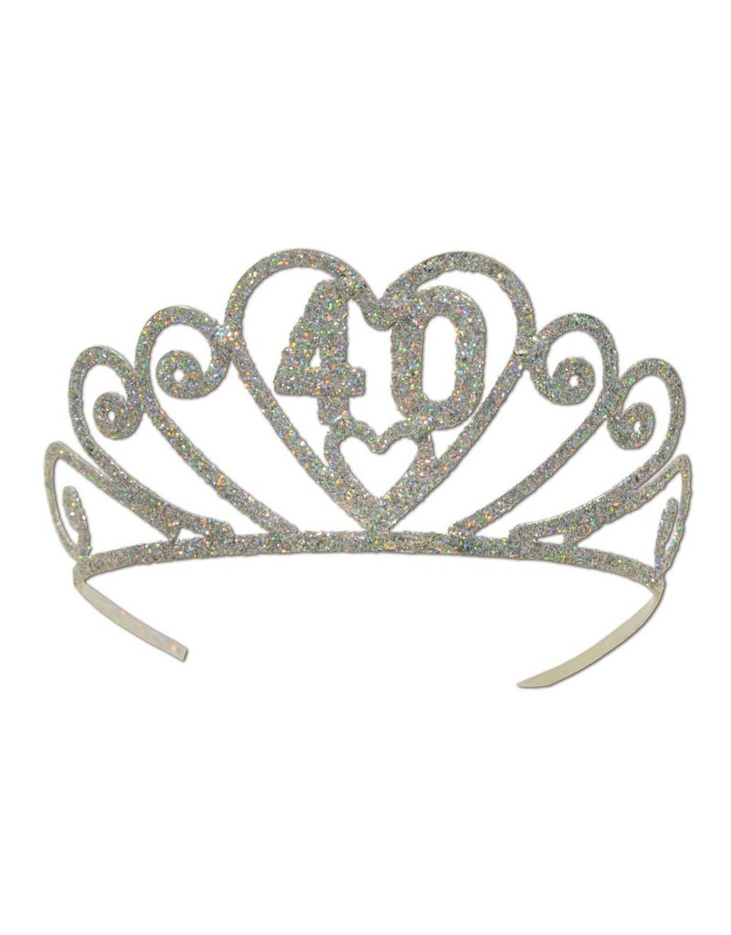 40TH Tiara