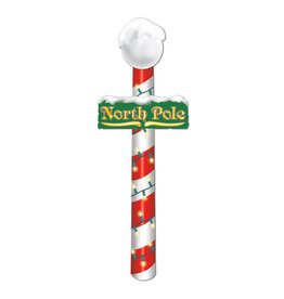 """Jointed North Pole-4'x7"""""""