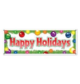 "Happy Holidays Banner-5' x 21"""