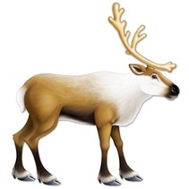 Reindeer Jointed Cutout