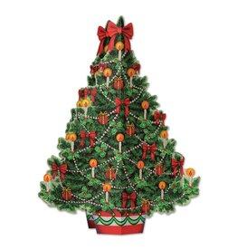 Christmas Tree 3-D Centerpiece