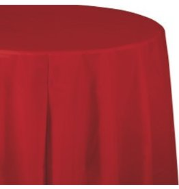 Round Table Cover Classic Red