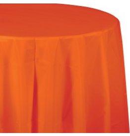 Round Table Cover Sunkissed Orange