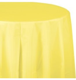 Round Table Cover Mimosa Yellow