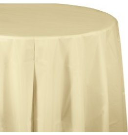 Round Table Cover Ivory